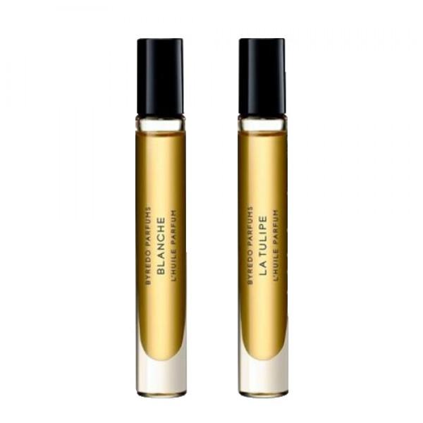 Duo Huiles Parfumées La Tulipe Et Blanche  - Byredo -Huile Parfumée