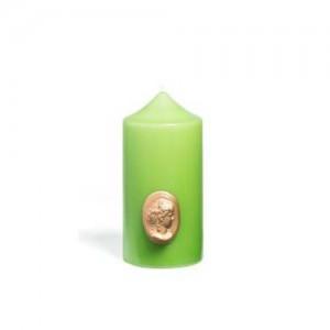 Cierge Vert Amande  - Cire Trudon -Décoration