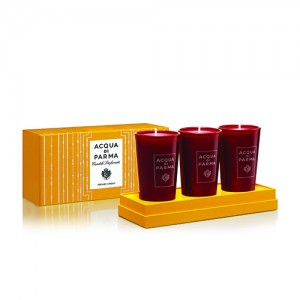 Mini Perfumed Candles Set - Acqua Di Parma -Scented candles