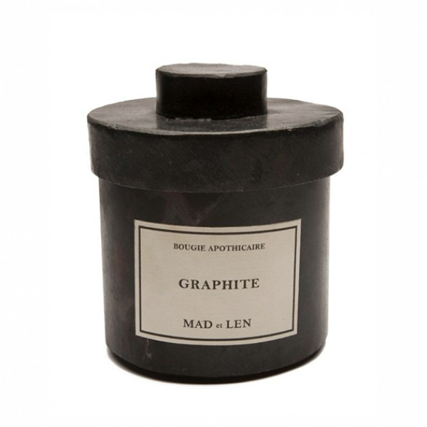 Graphite  - Mad Et Len -Scented candles