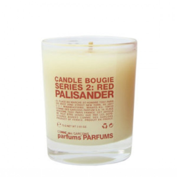 Serie 2 : Red - Palisander - Comme Des Garçons -Bougie parfumée