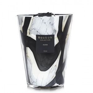 Stones Marble Max 24 - Baobab Collection -Bougie parfumée