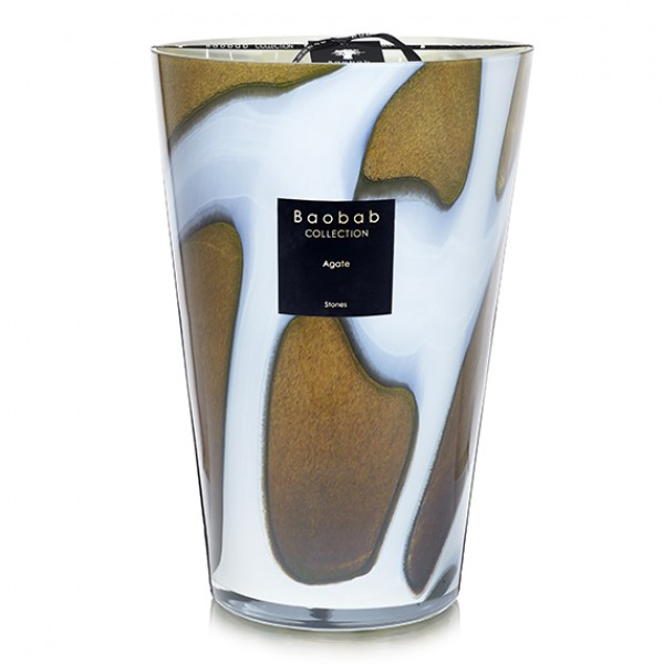 Stones Agate Maxi Max - Baobab Collection -Scented candles