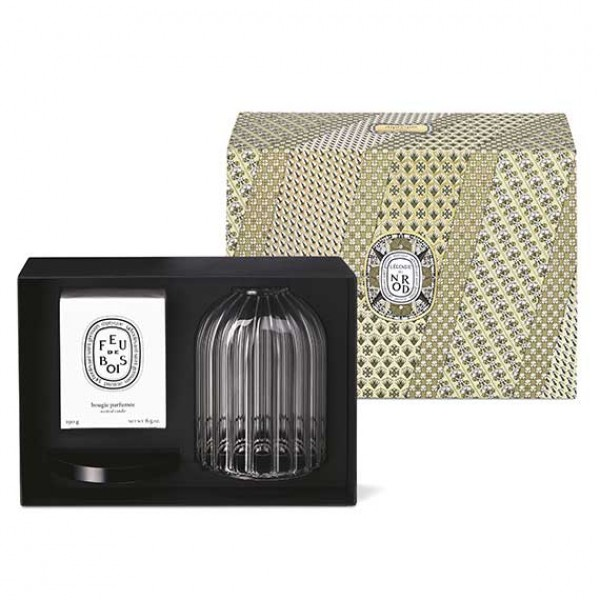 Photophre And Feu De Bois Candle Duo Set - Diptyque -Scented candles