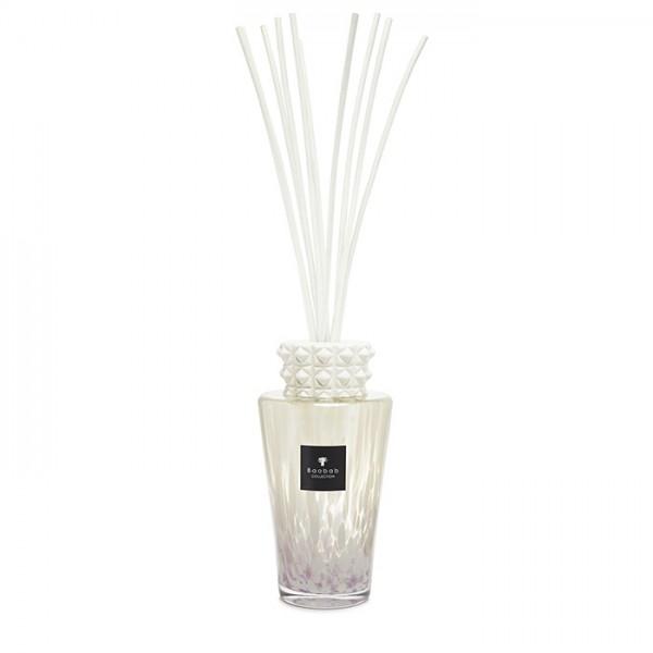 Totem - White Pearls Medium - Baobab Collection -Diffuseur avec bâtonnets