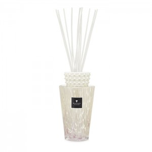 Totem - White Pearls Large - Baobab Collection -Diffuseur avec bâtonnets