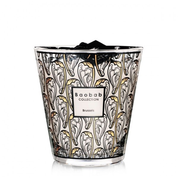Brussels Art Nouveau Max 16 - Baobab Collection -Scented candles