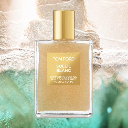 Soleil Blanc - Gold - Tom Ford -Huile corps