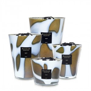 Stones - Agate - Baobab Collection -Scented candles