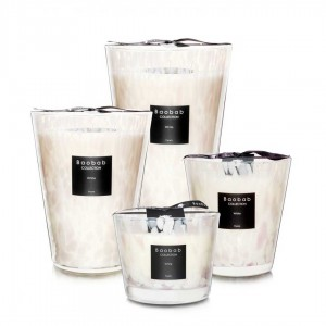 White Pearls - Baobab Collection -Scented candles
