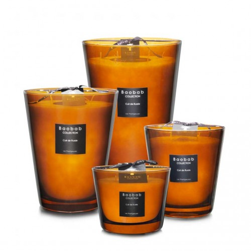 Les Prestigieuses - Cuir De Russie - Baobab Collection -Scented candles