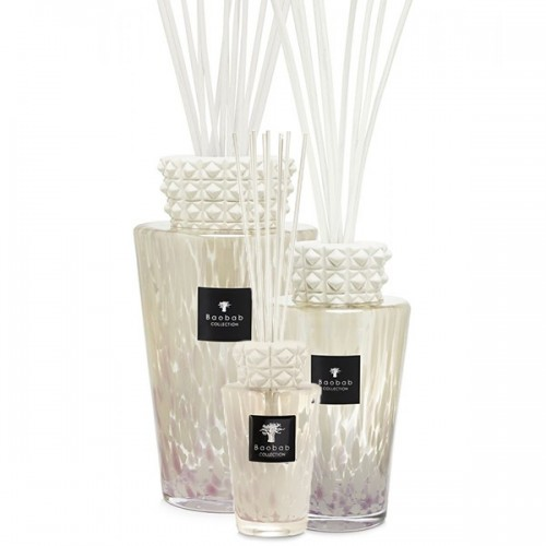 Totem - White Pearls - Baobab Collection -Diffuseur avec bâtonnets