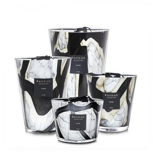 Stones - Marble - Baobab Collection -Scented candles