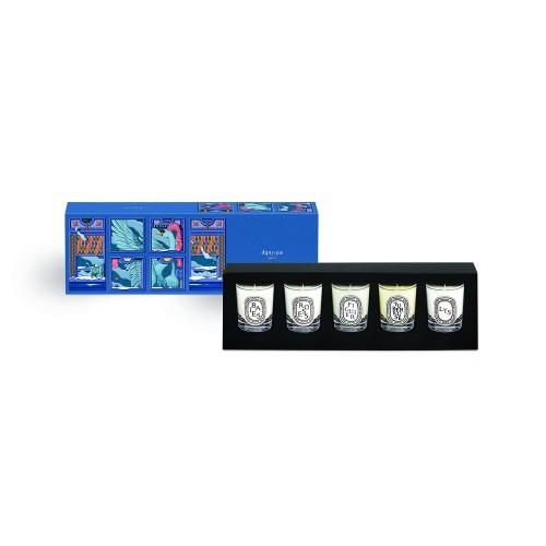 Coffret 5 Bougies - Limited Edition - Diptyque -Bougie parfumée