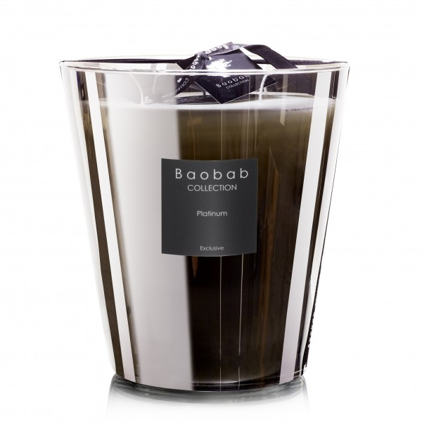 Platinum Max 16 - Baobab Collection -Bougie parfumée