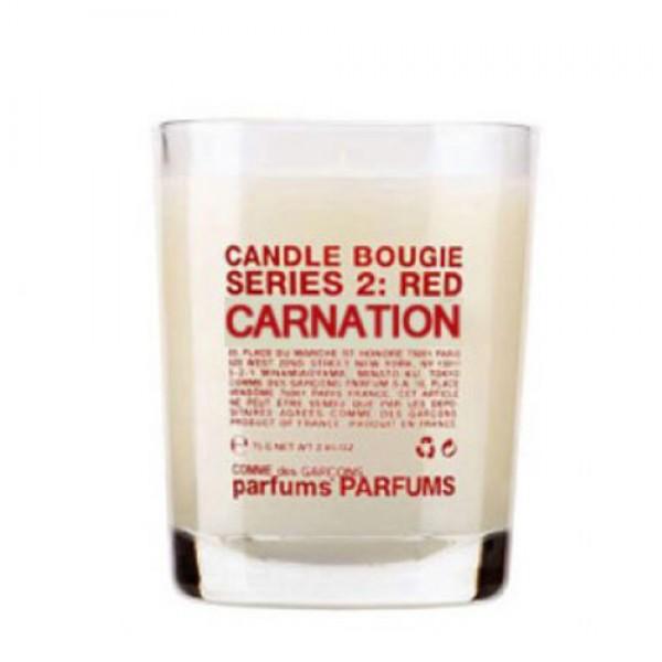 Serie 2 : Red - Carnation - Comme Des Garçons -Bougie parfumée