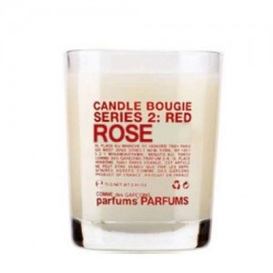 Serie 2 : Red - Rose - Comme Des Garçons -Scented candles