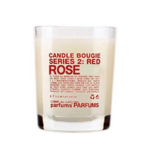 Serie 2 : Red - Rose - Comme Des Garçons -Bougie parfumée