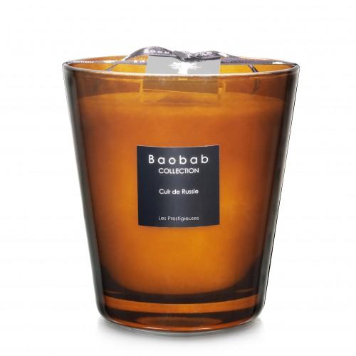 Cuir De Russie Max 16 - Baobab Collection -Bougie parfumée