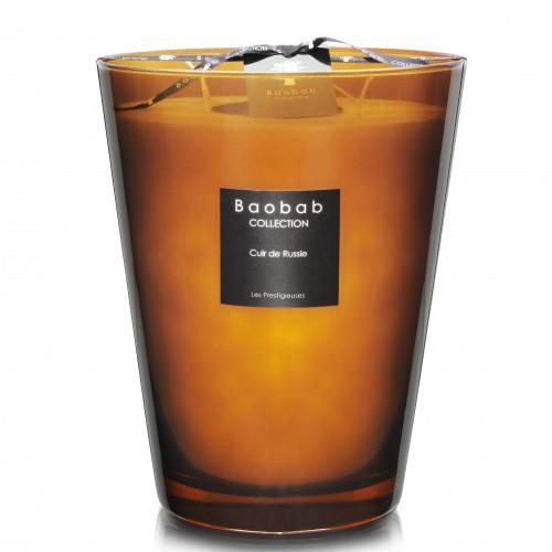 Cuir De Russie Max 24 - Baobab Collection -Bougie parfumée