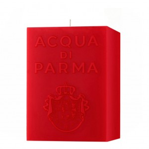 Bougie Cube Rouge (Accord Épicé) - Acqua Di Parma -Scented candles