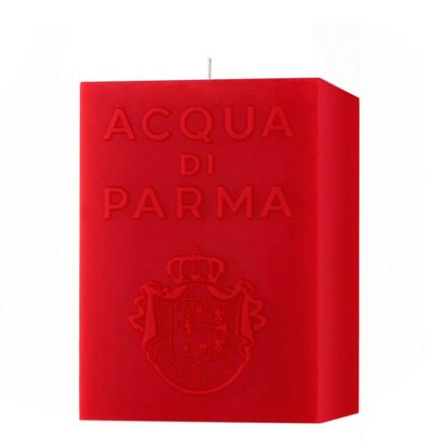 Bougie Cube Rouge (Accord Épicé) - Acqua Di Parma -Bougie parfumée