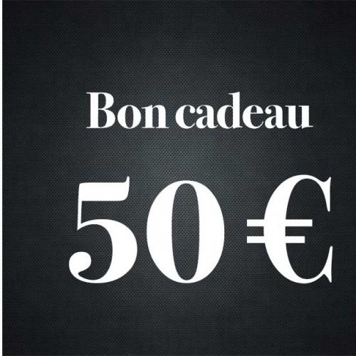 Bon Cadeau De  50 Euros - Premiere Avenue -Bon Cadeau