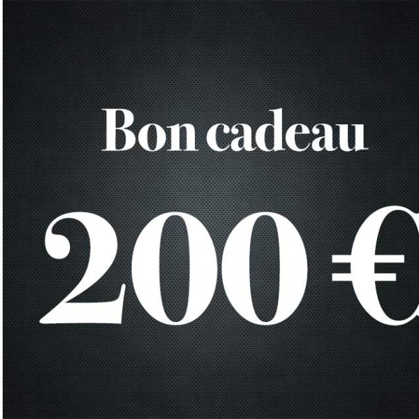 Bon Cadeau De 200 Euros - Premiere Avenue -Bon Cadeau