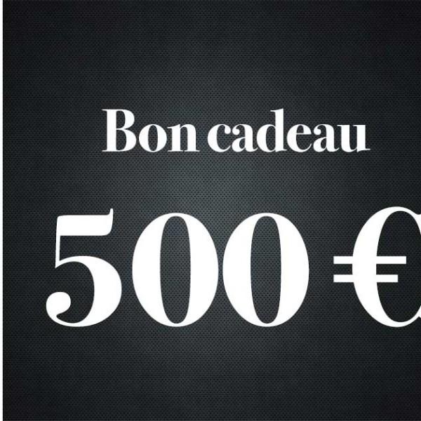 Bon Cadeau De 500 Euros - Premiere Avenue -Bon Cadeau