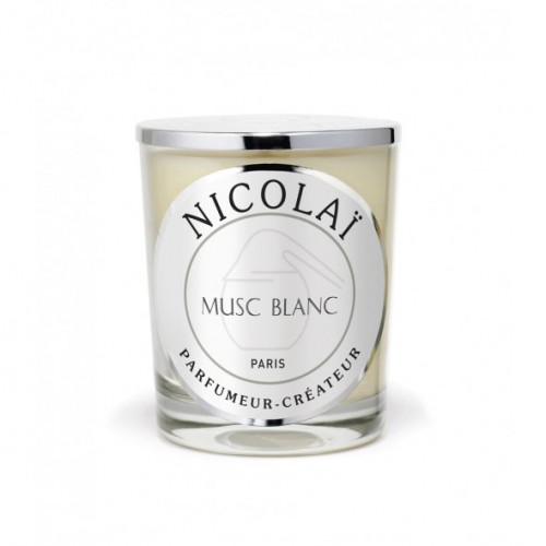 Musc Blanc - Patricia De Nicolai -Bougie parfumée