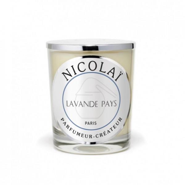 Lavande Pays - Patricia De Nicolai -Bougie parfumée
