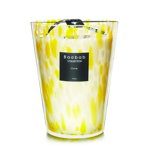 Citrine Pearl Max 24 - Baobab Collection -Bougie parfumée