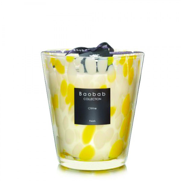 Citrine Pearl Max 16 - Baobab Collection -Bougie parfumée