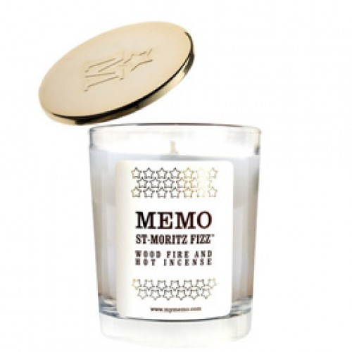 St-Moritz Fizz - Memo -Bougie parfumée