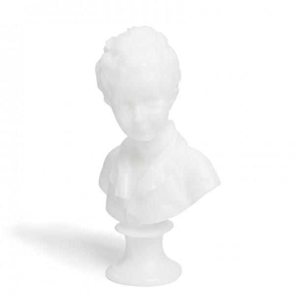 Buste Alexandre - Blanc - Cire Trudon -Décoration