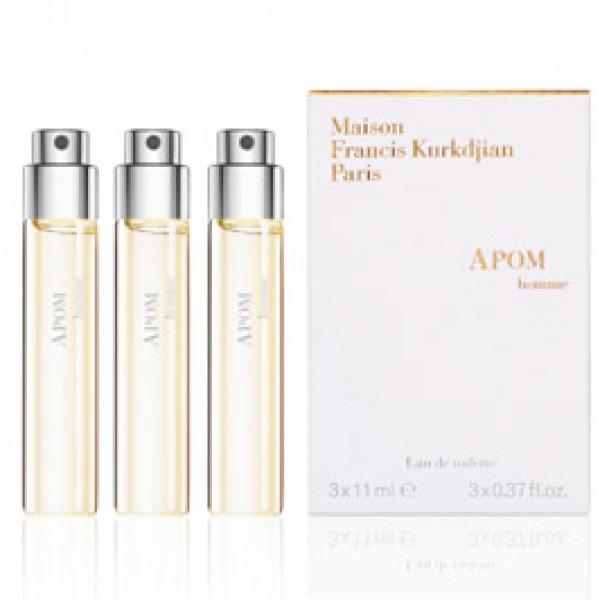 Apom Homme - Recharges - Maison Francis Kurkdjian -Parfum pour Voyage