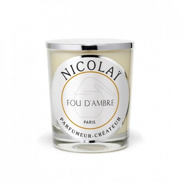 Fou D'ambre - Patricia De Nicolai -Bougie parfumée