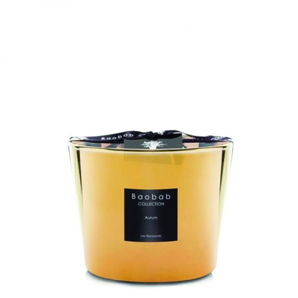 Aurum - Max 10 - Baobab Collection -Bougie parfumée