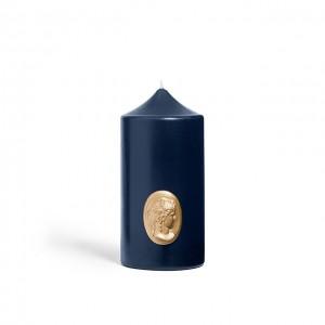 Cierge Bleu Marine - Cire Trudon -Decoratoin