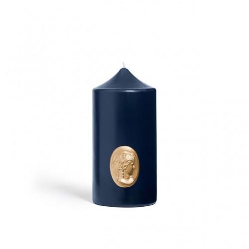 Cierge Bleu Marine - Cire Trudon -Décoration