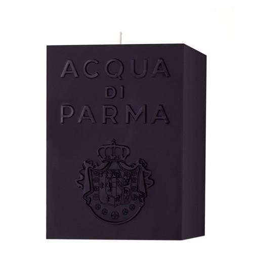 Bougie Cube Noire (Ambre) - Acqua Di Parma -Bougie parfumée