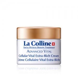 Crème Cellulaire Vital Extra-Riche - La Colline Swiss Riviera Beauty Treatment -Soin anti âge