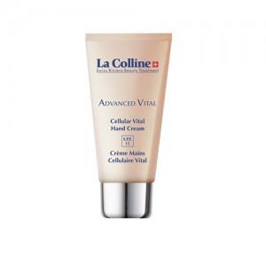Crème Mains Cellulaire Vital Spf 15 - La Colline Swiss Riviera Beauty Treatment -Soin anti âge