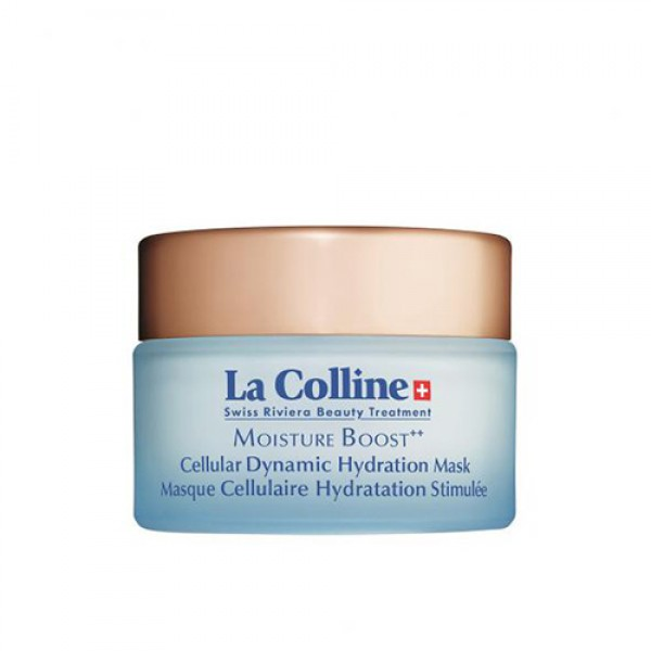 Masque Cellulaire Hydratation Stimulée - La Colline Swiss Riviera Beauty Treatment -Soin anti âge