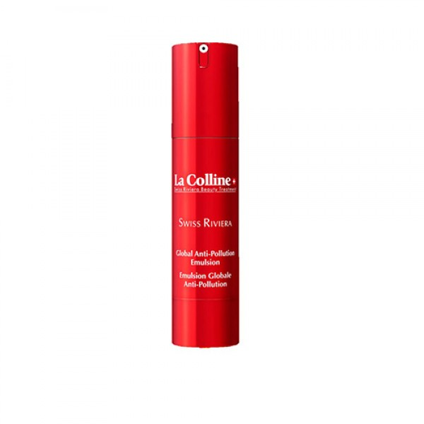 Emulsion Globale Anti-Pollution - La Colline Swiss Riviera Beauty Treatment -Soin anti âge